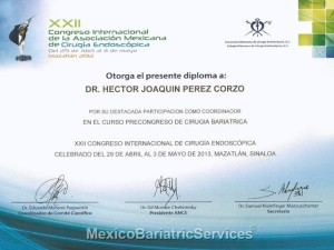 WLS Certificate - Dr. Hector Perez