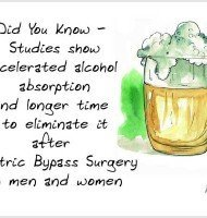 Alcohol and Gastric Bypass – Know How it Affects You