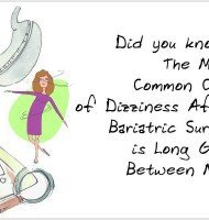 5 Causes of Dizziness After Bariatric Surgery