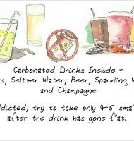 How Important is it to Avoid Flat Carbonated Drinks After WLS